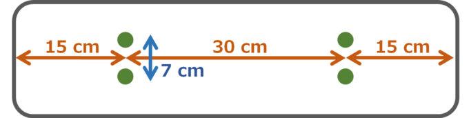 アスパラガス播種方法